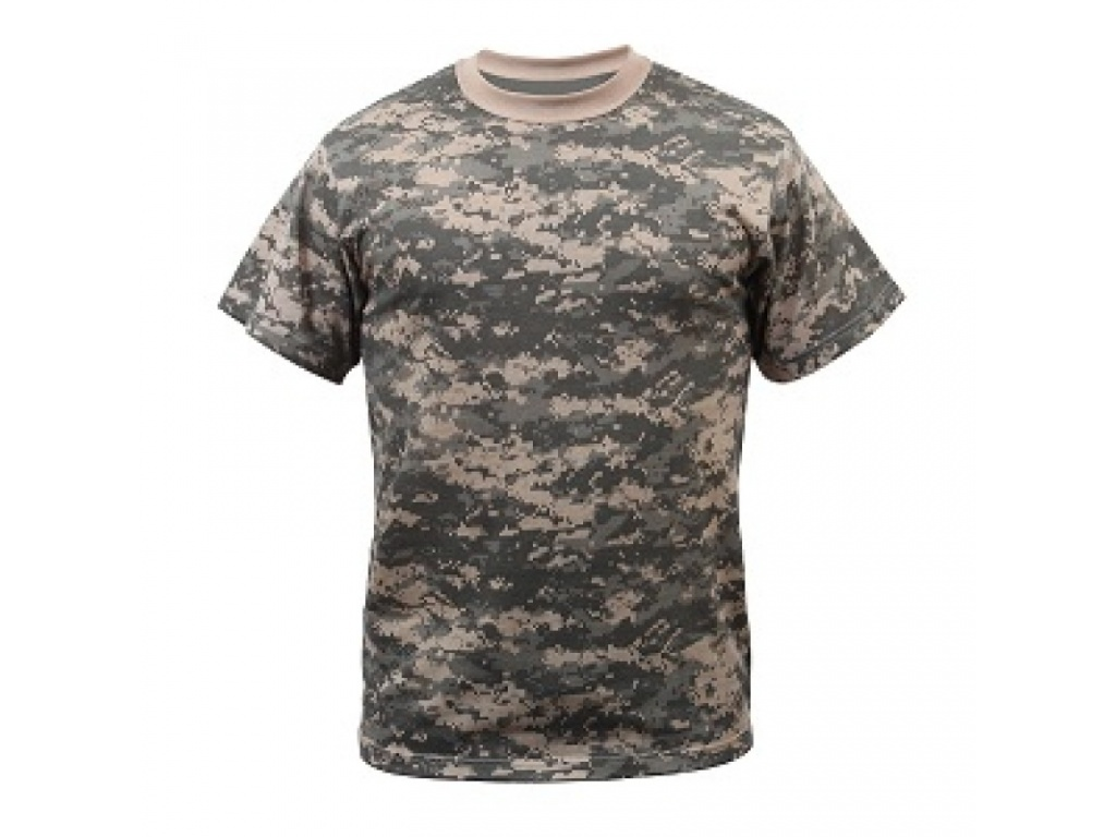 Remera Acu Digital Camo Rothco