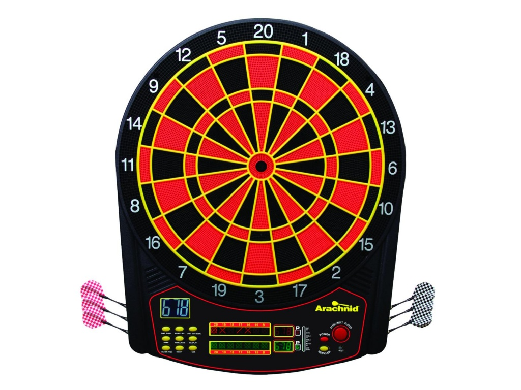 Tablero de dardos electronico Arachnid Cricket PRO 450