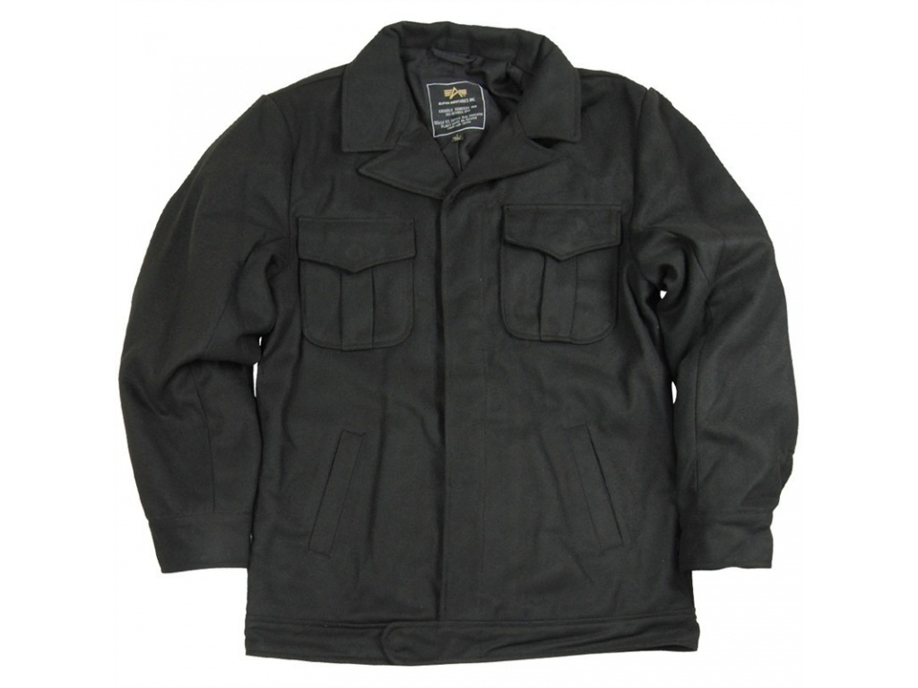 Campera Alpha Eisenhower Negra