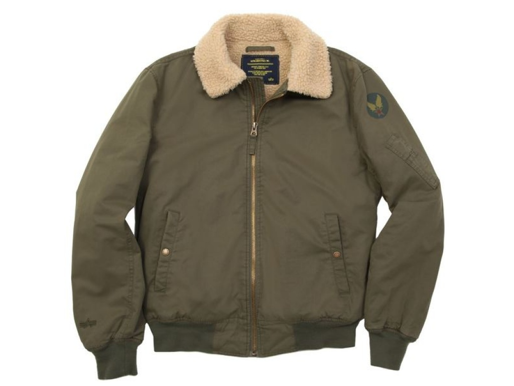 Campera Alpha Nose Dive Verde