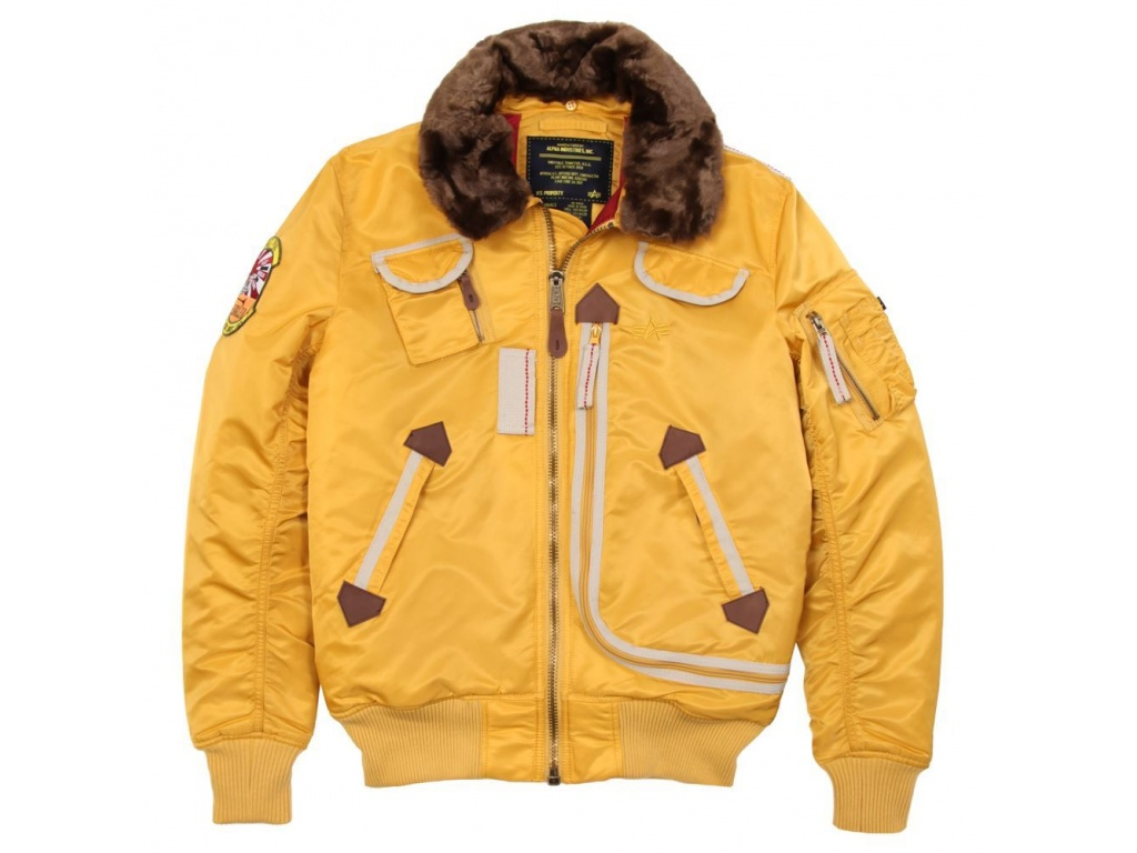 Campera Alpha Injector Amarillo