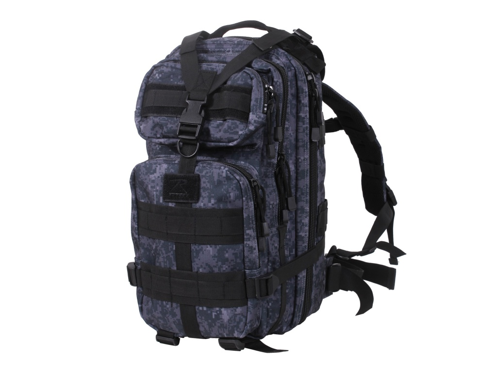 Mochila tactica Rothco Molle Midnight Blue Digital