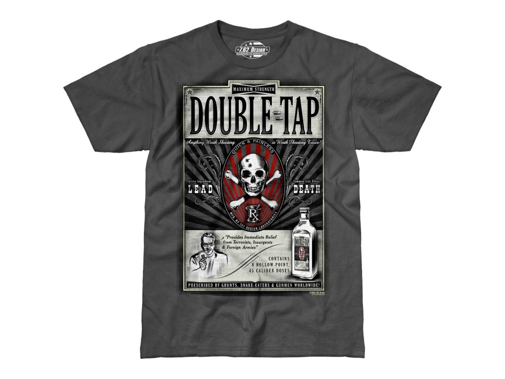 Remera Double Tap