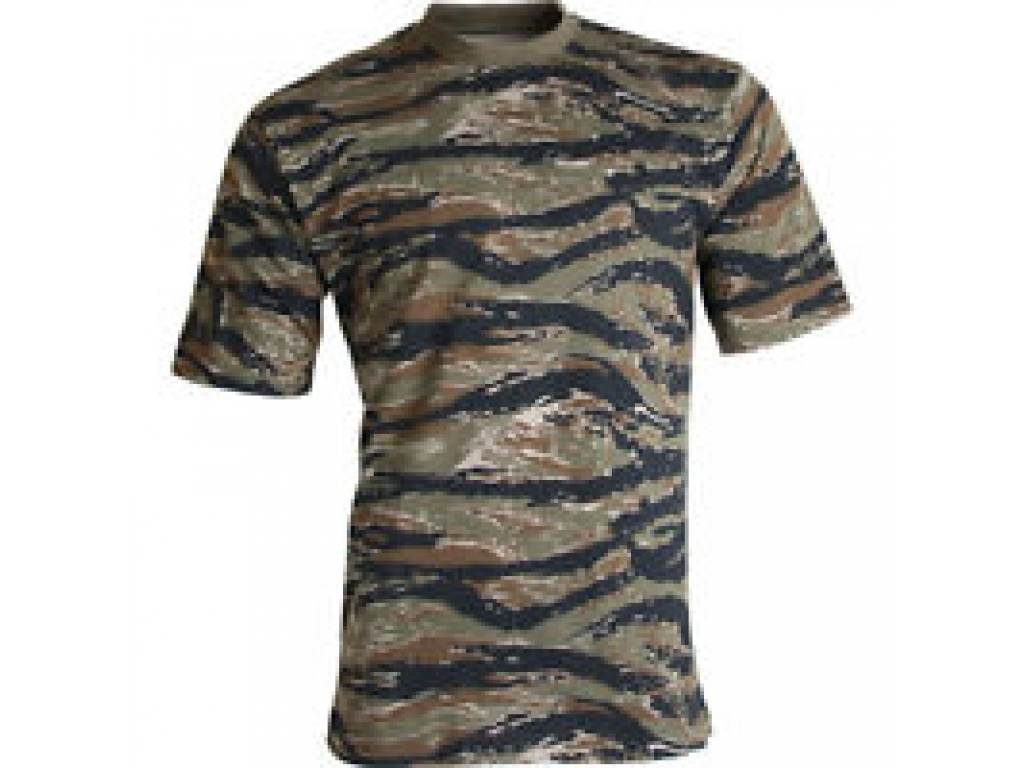 Remera Tiger Stripe Camo Rothco