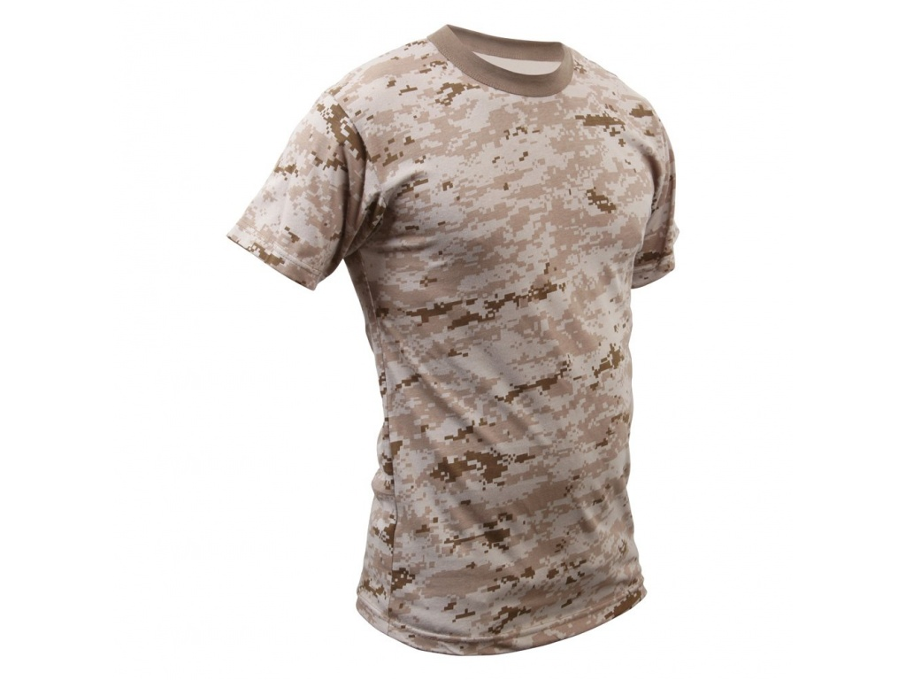 Remera Desert Digital Camo Rothco