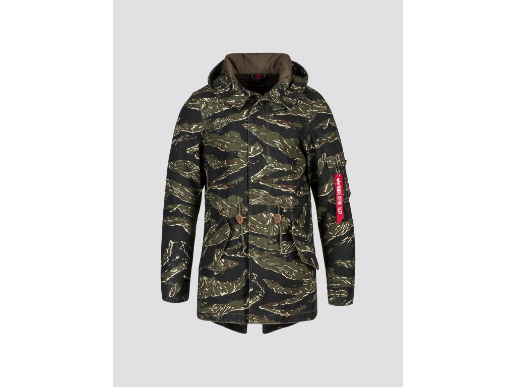 Campera Alpha M-59 Fishtail Tiger Camo