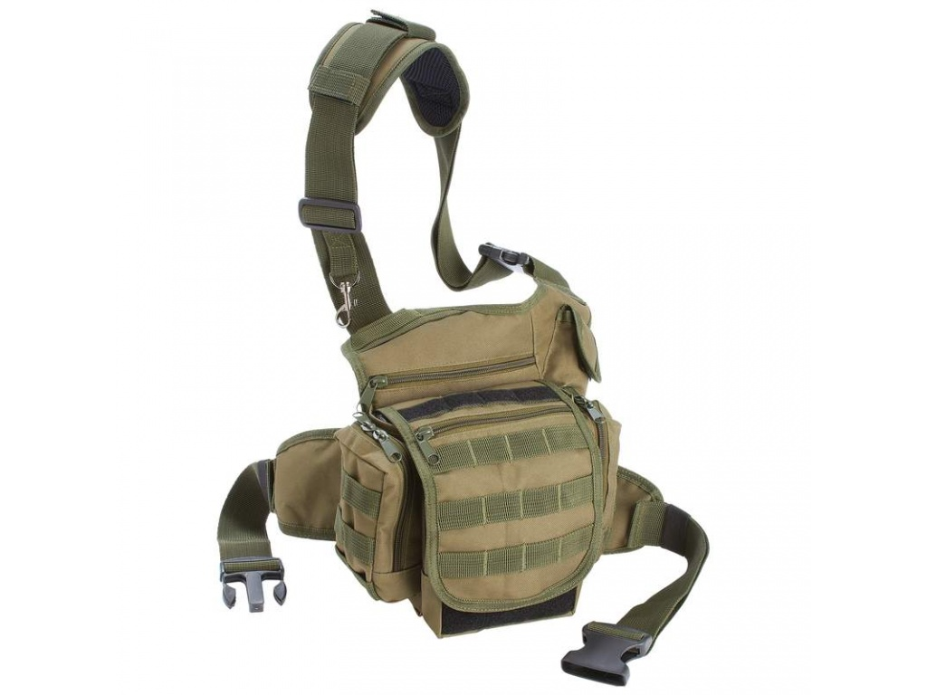 Bolso Morral tactico Extreme Pack