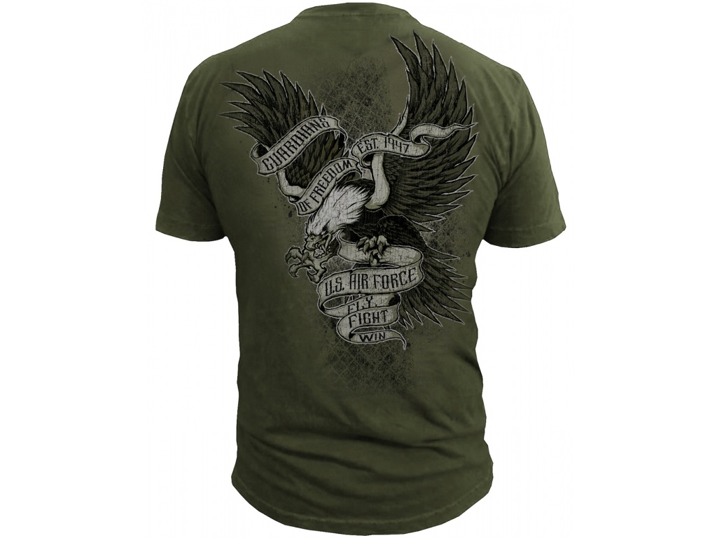 Remera Black Ink USAF Guardians of Freedom