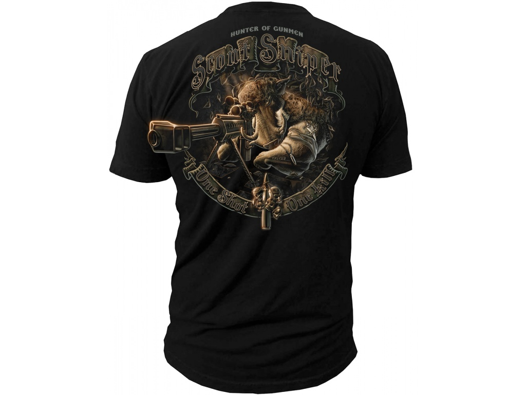 Remera Black Ink Scout Sniper