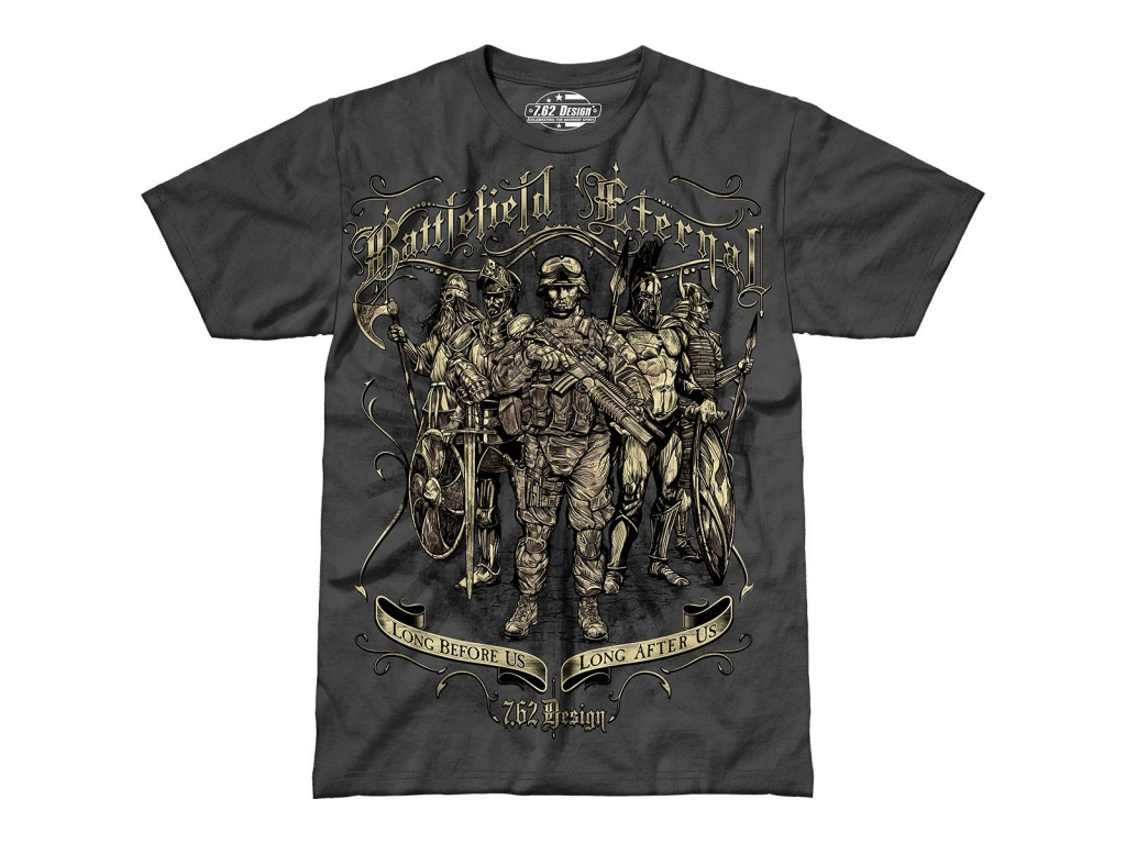 Remera Battlefield Eternal Gris