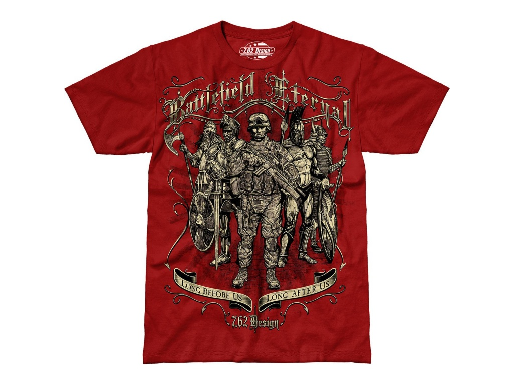 Remera Battlefield Eternal Roja