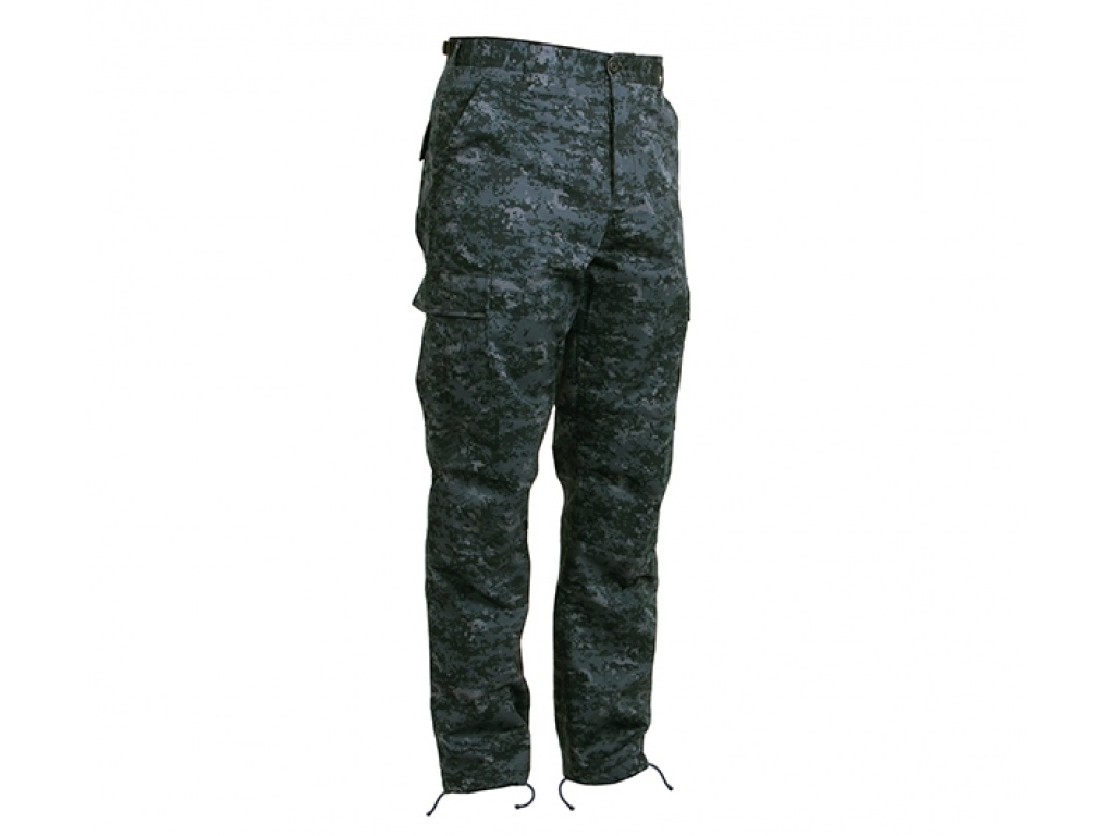 Pantalon Cargo Midnight Blue Digital Camo Rothco