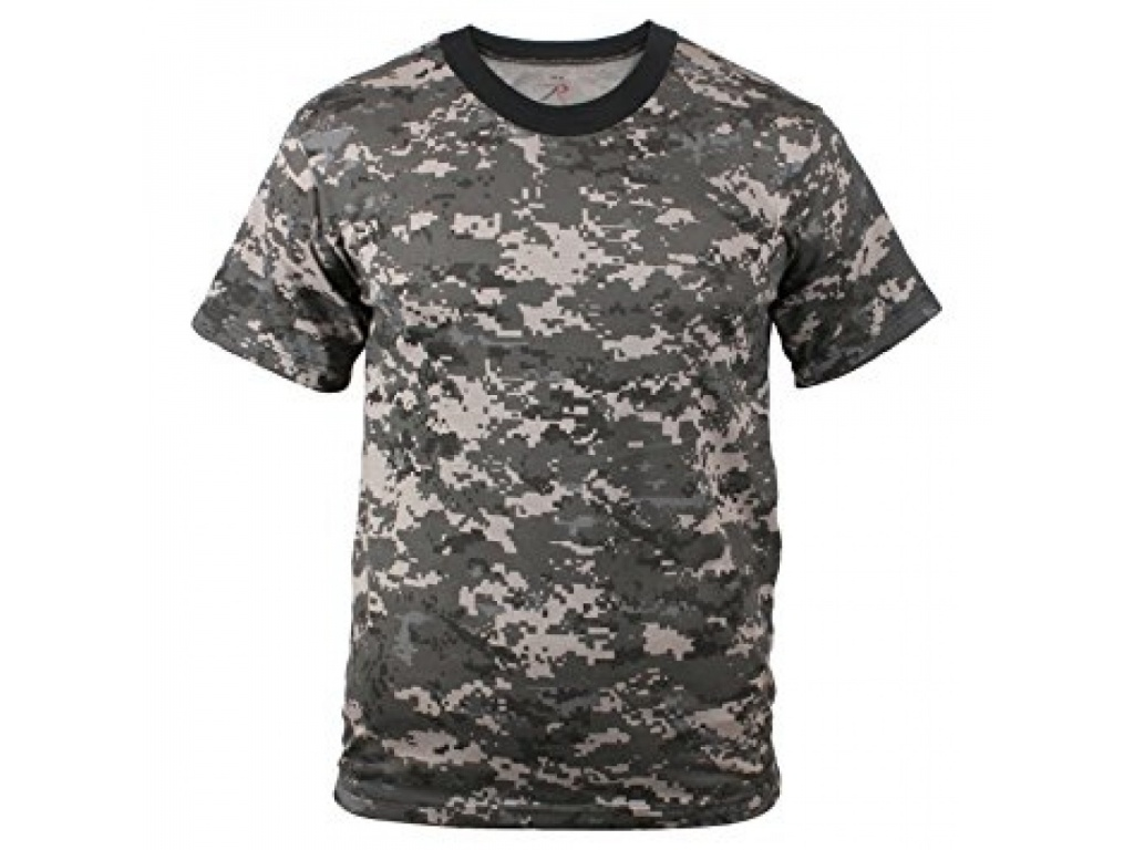 Remera Subdued Urban Digital Camo Rothco