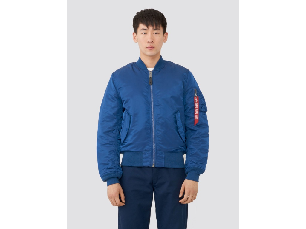 Campera Alpha MA-1 Slim Fit Blue