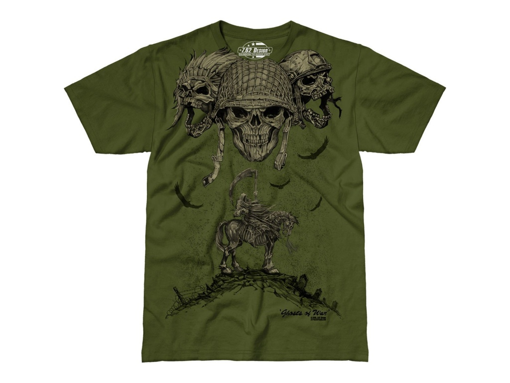 Remera Ghosts of War